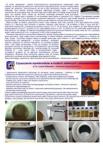 Czyszczenie wymienników kotłów żeliwnych i aluminiowych