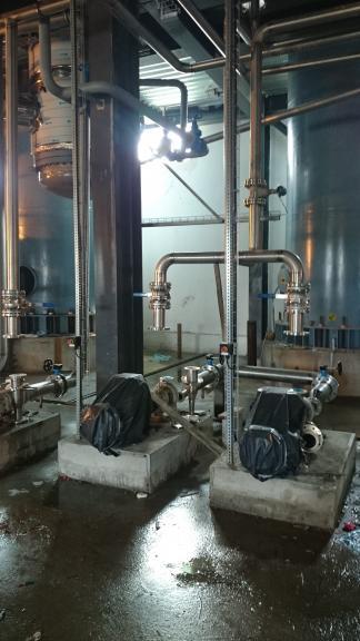 Kompleksowe czyszczenie całej instalacji nowobudowanej gorzelni