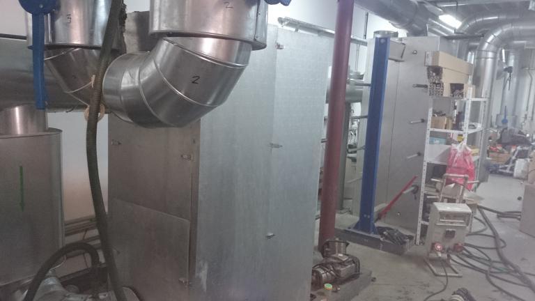 Chemiczne czyszczenie wymienników płytowych układu wody lodowe w Centrum Handlowym