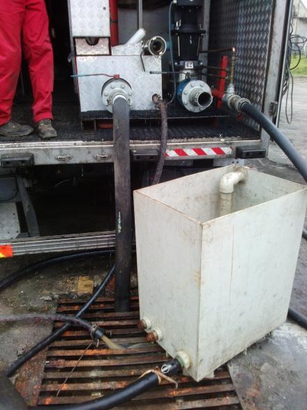 Chemiczne czyszczenie kotła wodnego Viessmann Vitoplex 100