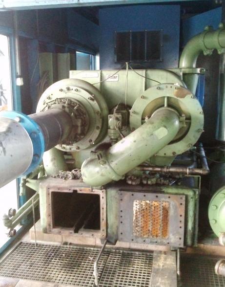 Chemiczne czyszczenie chłodnicy sprężarki Cooper Compression
