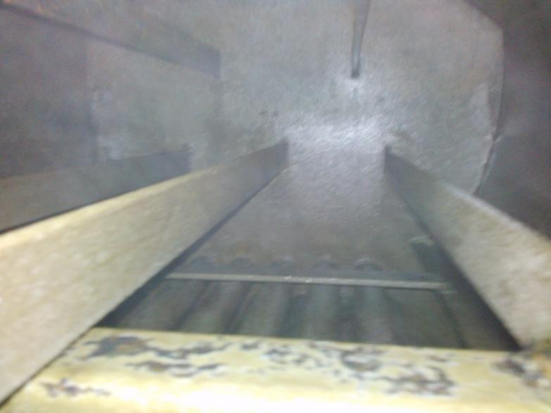 Wyczyszczone dwa kotły parowe Viessmann - powierzchnia metalicznie czysta i spasywowana