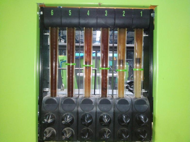Czyszczenie instalacji chłodzenia wtryskarek  18 maszyn w każdej 6-12 obiegów