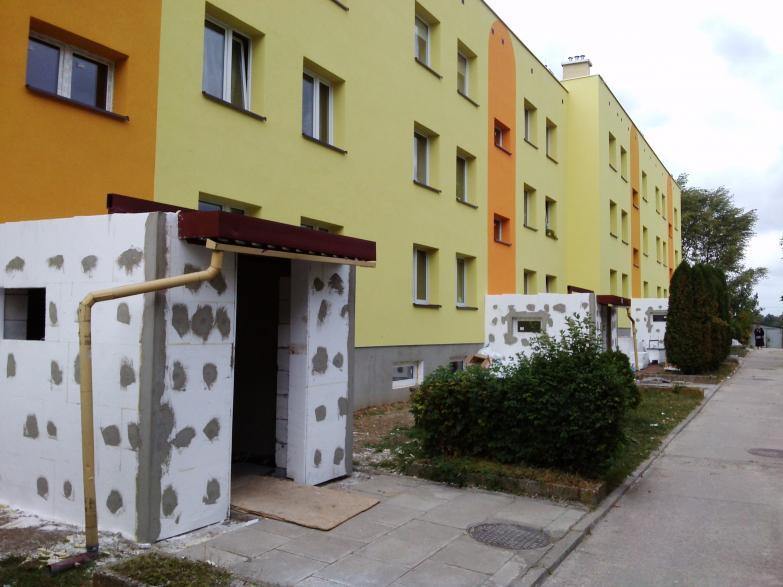 Czyszczenie instalacji co (w ramach termomodernizacji) i wymienników cwu w budynku wielorodzinnym ilość lokali 24; czas czyszczenia 10 godzin