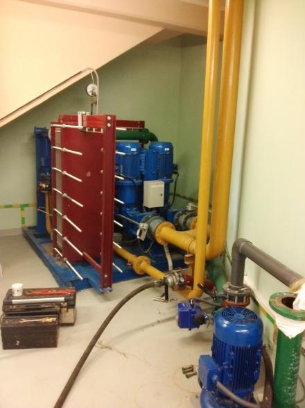 Czyszczenie wymienników układu chłodzenia generatorów