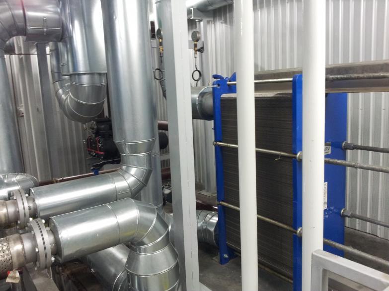 Czyszczenie układu chłodzenia elektrowni kogeneracyjnej