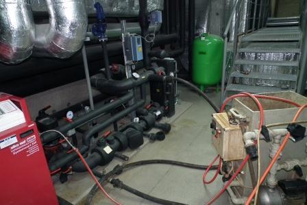 Czyszczenie instalacji klimatyzacji w InterContinental
