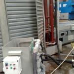 Czyszczenie prasy hydraulicznej