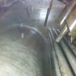 Stan powierzchni grzewczej Loos UL-S 3200 po czyszczeniu