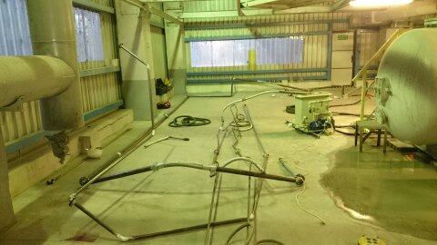 Trawienie i pasywacja instalacji chłodzenia oleju dla HITACHI