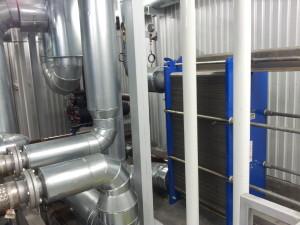 Czyszczenie wymienników ciepła glikol - woda
