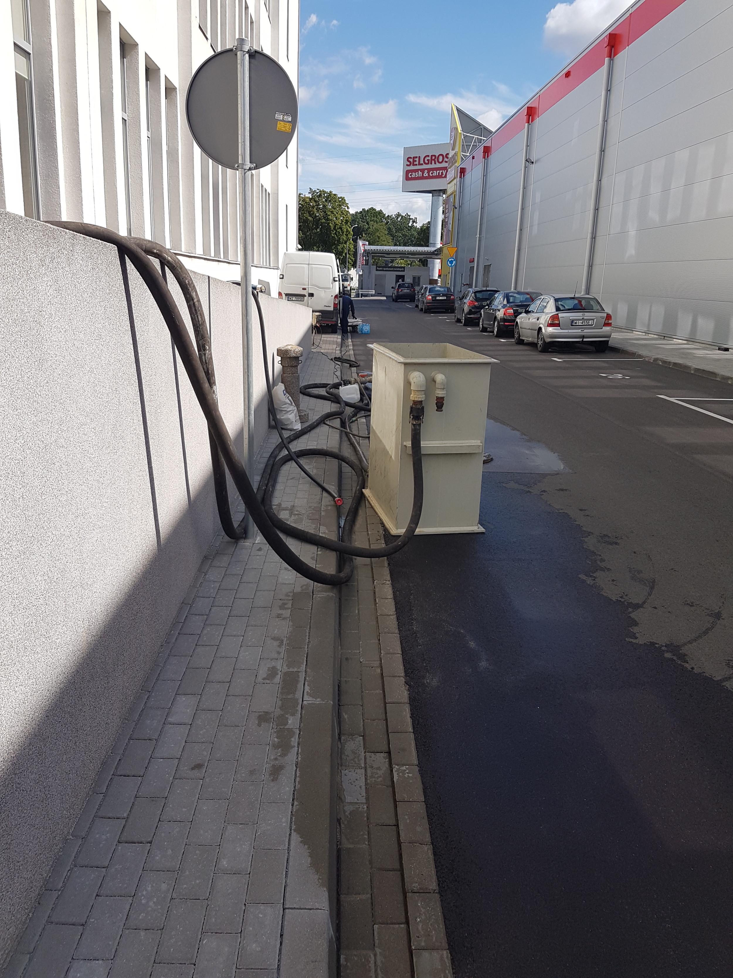 Czyszczenie instalacji wody lodowej